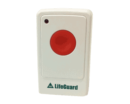 Call point button for seniors