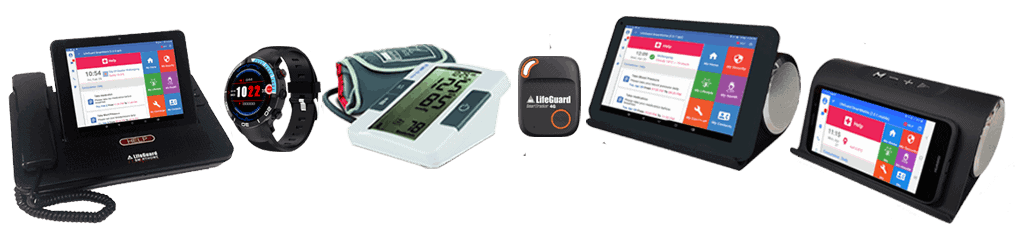 INS LifeGuard's range of assistive and monitoring gadgets for the elderly
